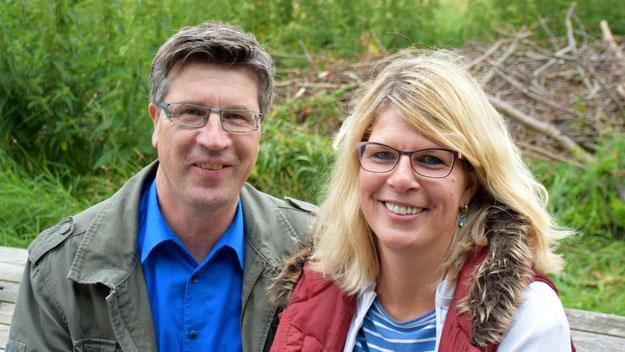 Fachbereichsleiter Carsten Möller überzeugte sich gemeinsam mit seiner Frau, dass der Zuschuss der Stadt gut angelegt war.