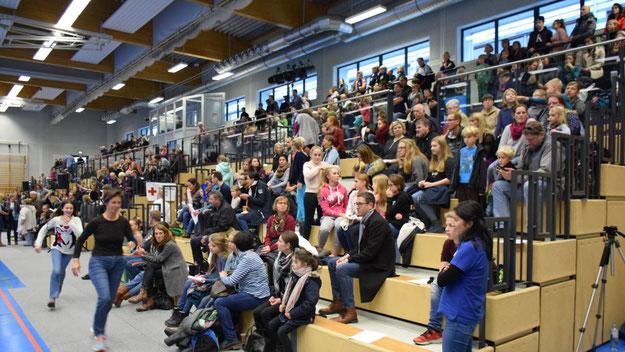 Sehr gut besucht war die Sport-Show des TuS-Holstein.