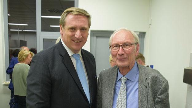 Der Pinneberger CDU-Kreisvorsitzende Christian von Boetticher verabschiedete den Parteifreund