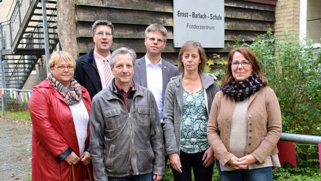 Freuten sich über den gelungenen Start: Astrid Huemke, Carsten Möller, Burkhard Arndt, Peter Küpper, Britta Karch-Espe und Susanne Zink.