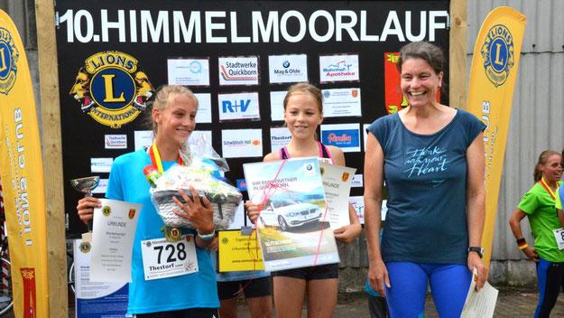 Auf der 4,1-km -Distanz siegten bei den Frauen Katharina Dörscher, Julia Kaiser und Katrin Schliephake.