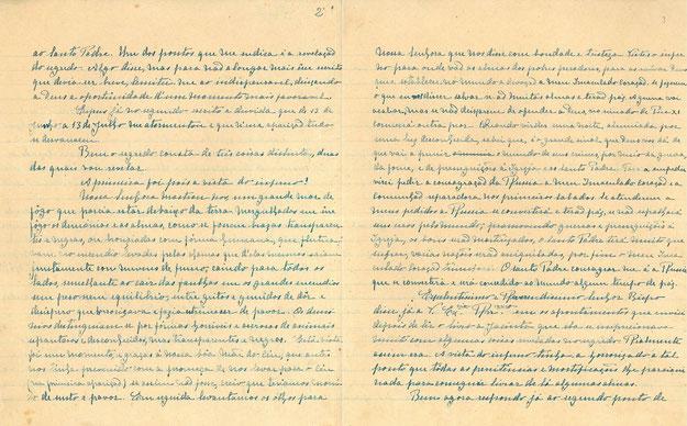 Segreto di Fátima Terza Memoria di suor Lucia