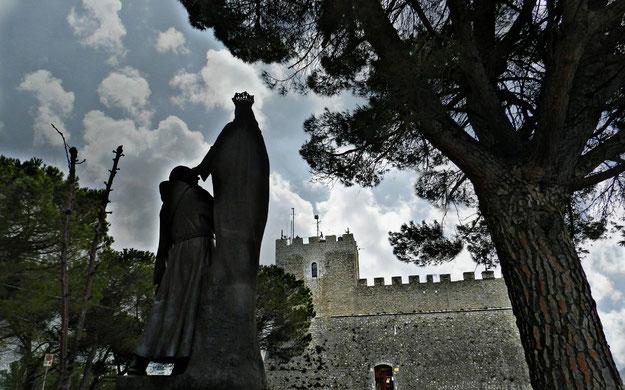 Pino Nania, Padre Pio e la Madonna del Monte (1988)