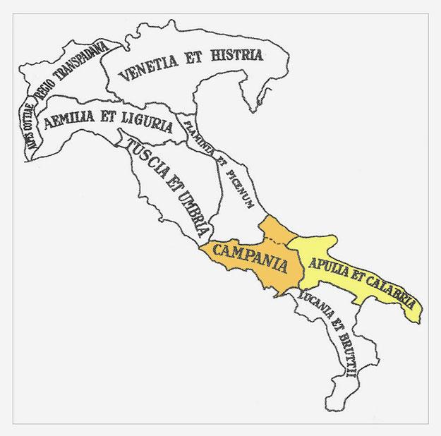 Diocesi italiciana al tempo di Diocleziano