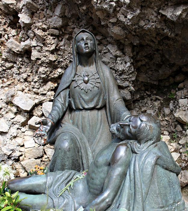 Urbano Buratti, Apparizione della Beata Vergine Addolorata di Castelpetroso (1975)
