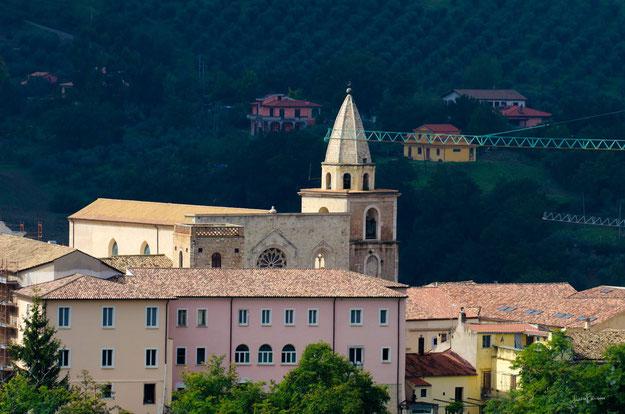 La Cattedrale di Larino domina il Centro storico medievale