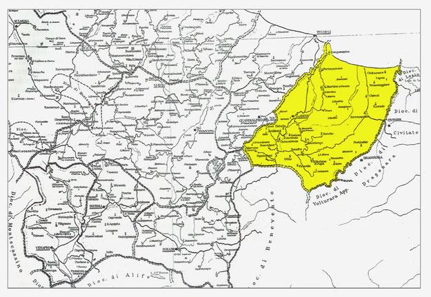Territorio di Larinum