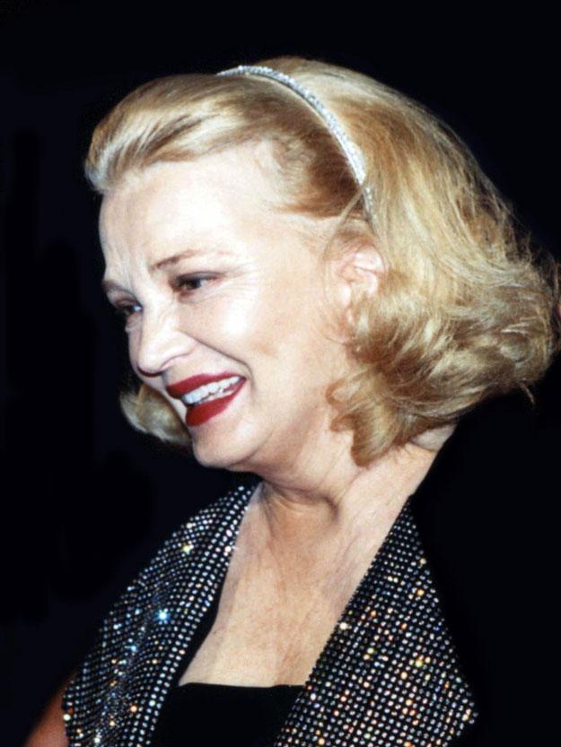 Gena ROWLAND - Festival de Cannes 1995  © Anik COUBLE