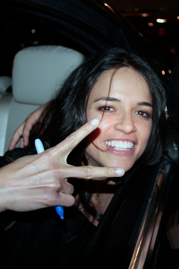 Michelle RODRIGUEZ - Festival de Cannes 2012 - Photo © Anik COUBLE