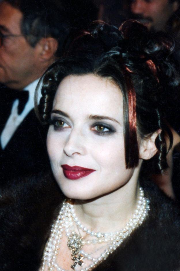"""Isabella ROSSELLINI - Cérémonie des """"César"""" - Paris - 1997 © Anik COUBLE"""