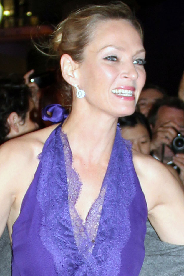 Uma THURMAN - Festival de Cannes 2011 © Anik COUBLE