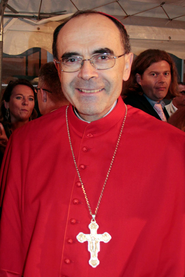 Cardinal Philippe BARBARIN, Archevêque de Lyon - Photo © Anik Couble