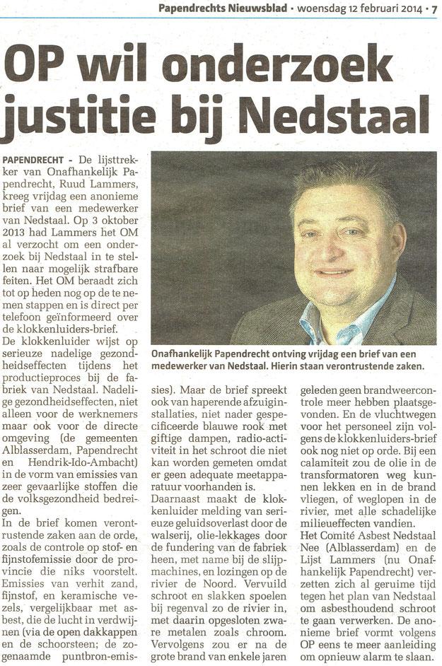 OP wil onderzoek Justitie