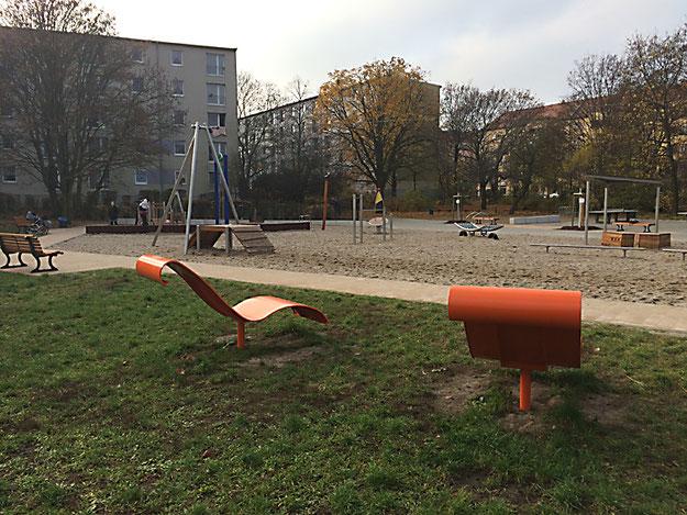Erich-Weinert-Park, Berlin Prenzlauer Berg