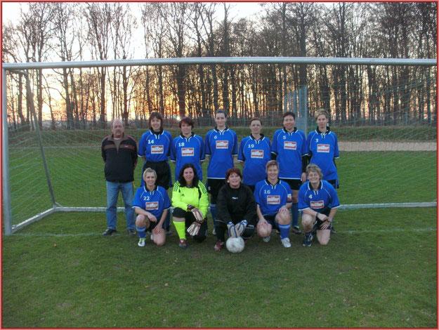 Das Frauenfussballteam 2012