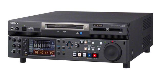 XDCAM メディアステーション XDS-PD2000 XDS-PD1000 CM入稿 CMメタデータ xdcam 納品 入稿 番組納品