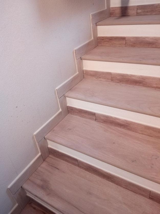 Scala effetto legno