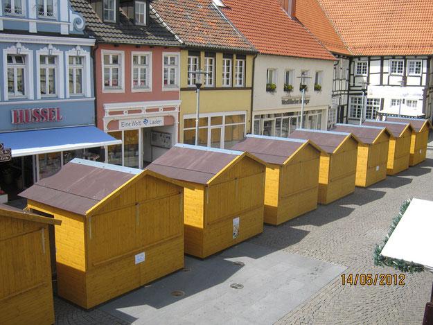 Markthütten mieten oder kaufen