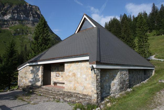 Fräkmünt-Kapelle (Foto P. Mathis - Sommer 2018)