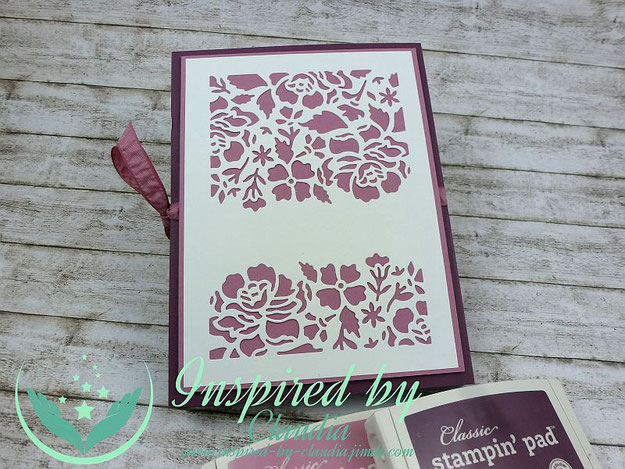 Kartenmappe Thinlits Florale Fantasie Stampin' Up!
