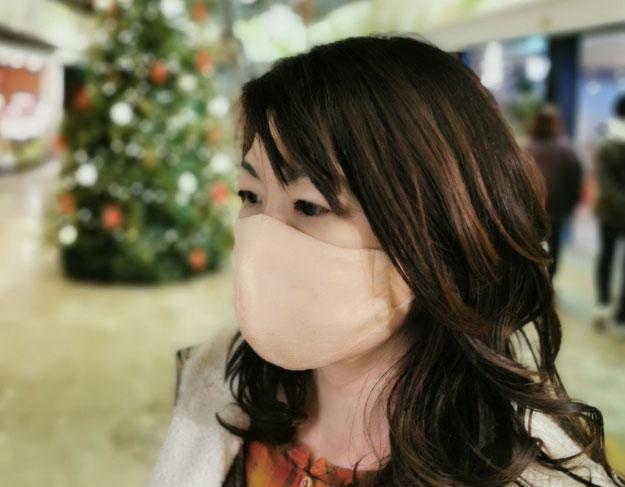 マスク ニット シームレス 日本製 立体 3D ウイルス対策 布マスク 花粉予防 アレルギー 高機能 洗えるマスク おしゃれ 女性 男性 メンズ レディース メランジ伸縮ニット  在庫ありオーガニックコットン 国内栽培 和綿 きれい ライン 小顔マスク 耳が痛くならない 肌荒れしない 呼吸しやすい 通気性 高品質 肌が弱い 肌トラブル 静電気 ほうれい線 綿 国産 植物染め ボタニカル ガラ紡 糸紡ぎ つむぐ マインド松井 糸 Tsumugu 色 生地 インナー 不織布マスク コロナ