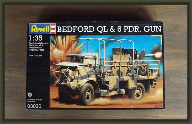 Revell 03030 Bedford QL & 6 PDR. Gun