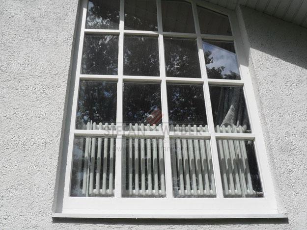 Holzfenster, neu beschichtet