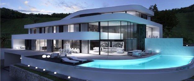 Ber uns by lifestyle homes ag moderne spanische villa for Moderne villen deutschland