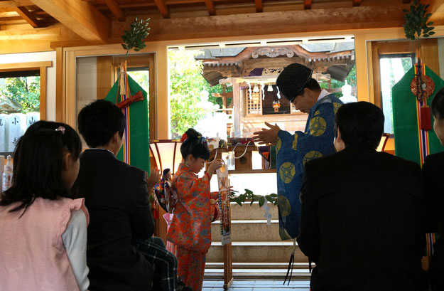 星田神社 七五三詣り