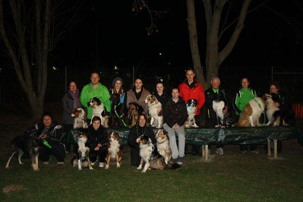 Unser Team auf dem Flutlichtturnier am 15.03.14 beim VfH Weinheim