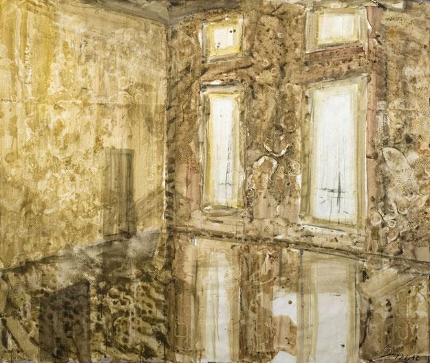 Spiegelsaal · 2012 · 1.700 x 2.000 mm · Dispersion auf Leinwand