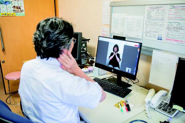 ビデオ通話でオンライン診療