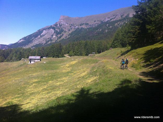 da Torgnon al Col de Bornes è quasi uno spasso