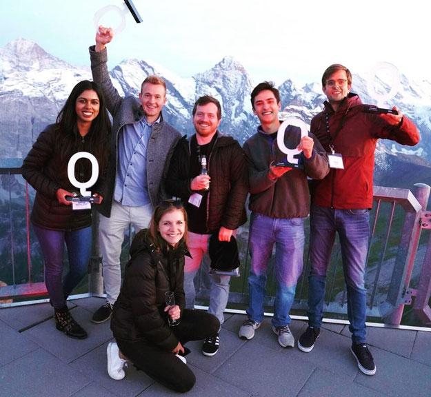 Winning team of IBM's Qiskit Camp Europe Hackathon 2019