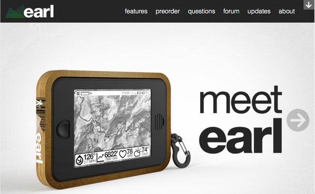 Meet Earl Backcountry Survival Tablet