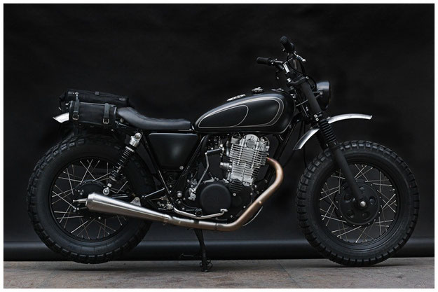 Custom Yamaha SR400 by Wrenchmonkees