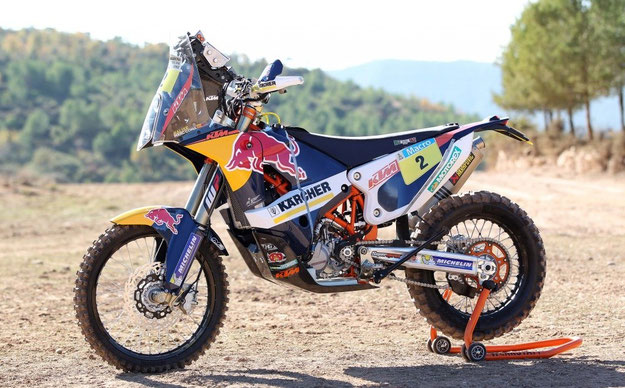 KTM Images, Edmunds J, 2014 KTM 450 Rally
