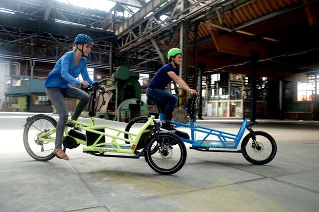 Trend Cargo e-Bikes: Neue Modelle und größere Auswahl