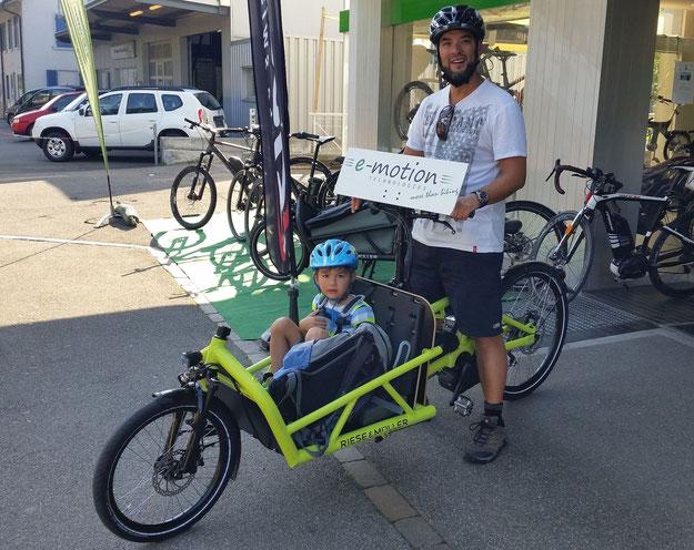 e-motion Dietikon - Cargo e-Bike