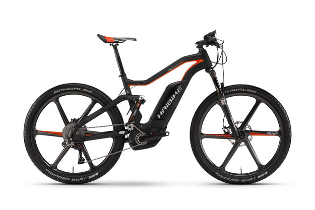 Haibike XDURO FullSeven Carbon Ultimate - 2016