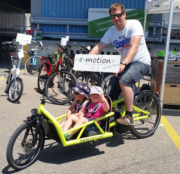 Velotag Limmatstadt war für die e-motion e-Bike Welt Dietikon ein voller Erfolg