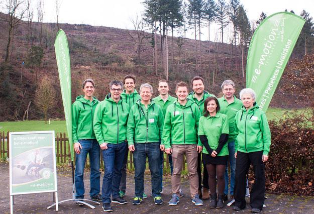 Entwicklung der e-motion e-Bike Shops in der Schweiz