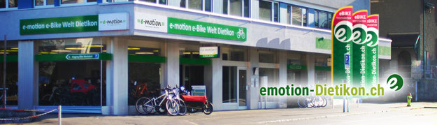 e-motion e-Bike Welt Dietikon