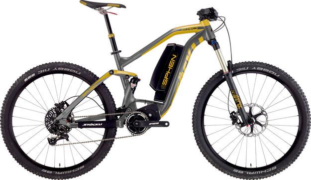 e-Mountainbikes von Stoeckli: eBeryll und eSphen