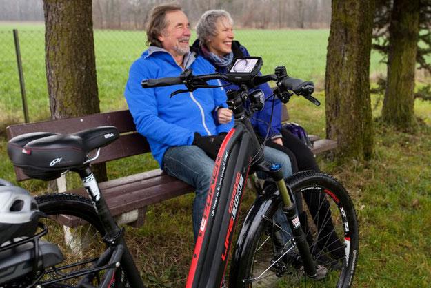 e-Bike fahren senkt das Herzinfarkt Risiko