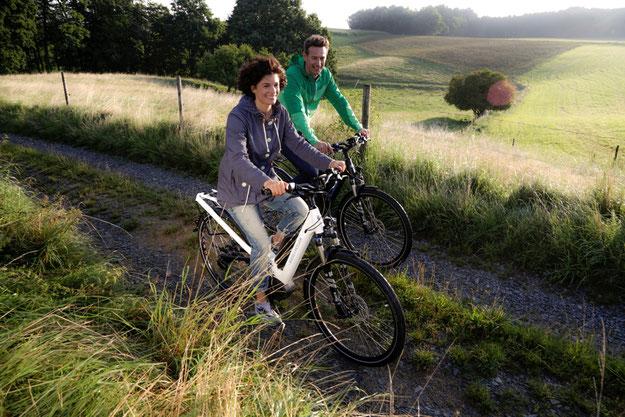 e-Bike fahren macht Spass