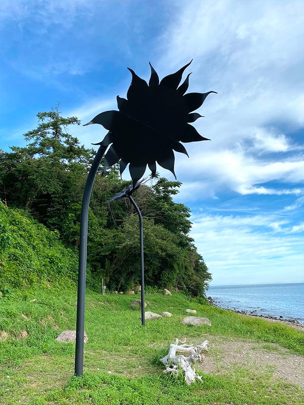 夏だ!海だ!ひまわりだ!長崎鼻(豊後高田市)