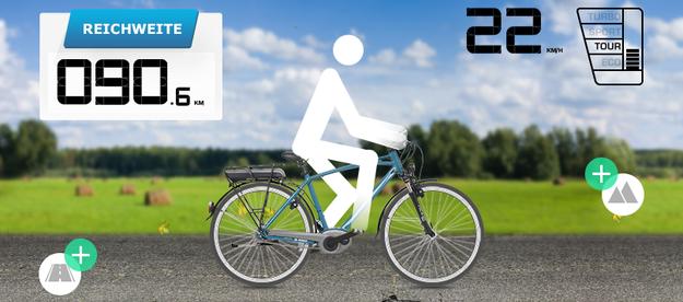 akku reichweite berechnen mit dem reichweiten assistent von bosch e motion e bike experten. Black Bedroom Furniture Sets. Home Design Ideas
