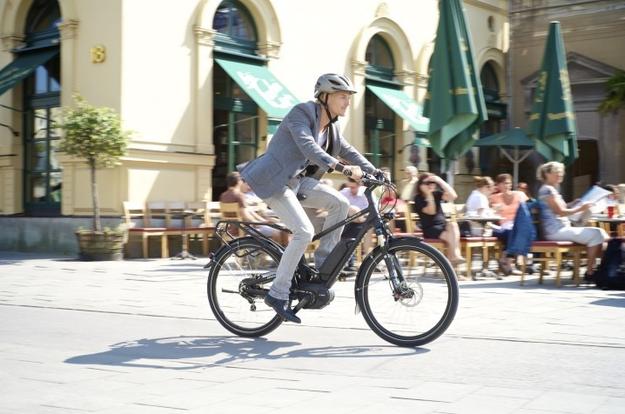 Bahnstreik - Pendler fahren e-Bike