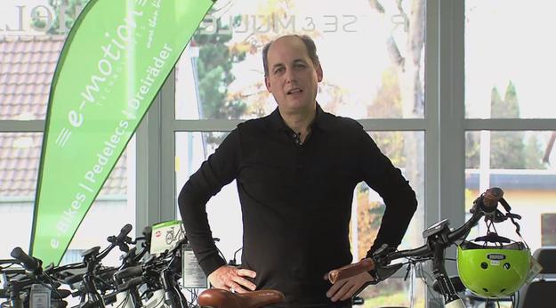 Videodreh in der emotion e-bike Welt Düsseldorf